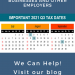 2021 Q3 tax calendar: Key deadlines for businesses and other employers. Roos & McNabb CPA Fresno, CA