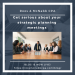 Get serious about your strategic planning meetings roos & mcnabb fresno, ca tax planning business planning tax prep california tax california cpa